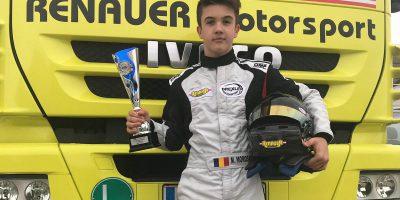 Formel 4: 4x Podium für Jungtalent Marius Morosan